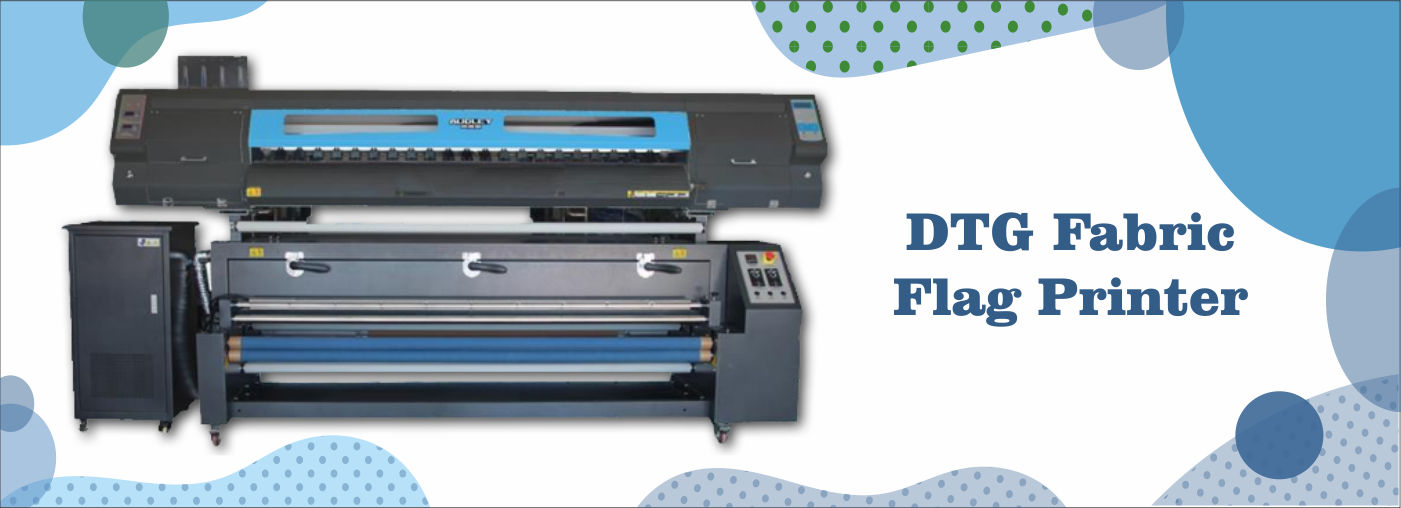 DTG Fabric Flag Printer